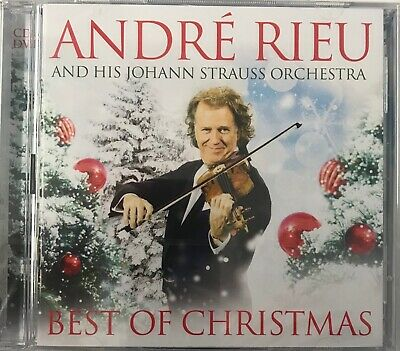 André Rieu Johann Strauss Orchestra - Best Of Christmas (CD+DVD) New Sealed