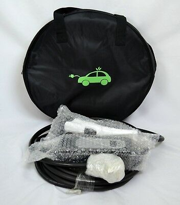 32 Amp Level 2 EV EVSE  Electric Car Super Fast Charger, 26ft Cable with Case