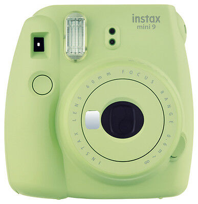 Instant Camera Fuji Instax Mini 9 Lime Green +20 Instax Photos & Batteries