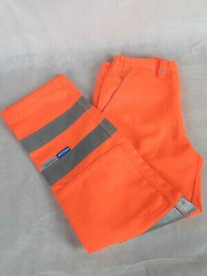 """Pulsar Size 12 29"""" Orange Fluorescent High Visibility Warning Trousers"""