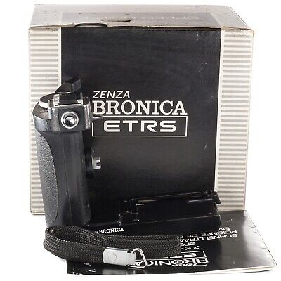 Zenza Bronica Speed Grip-E with Flash Shoe for ETR ETRC ETRS ETRSi ETR-C (boxed)