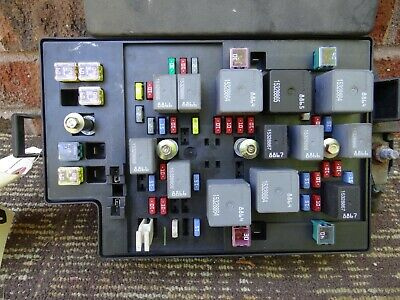 buick rendezvous fuse box relay junction block 03 04 05 2003 2004 2005  10315659
