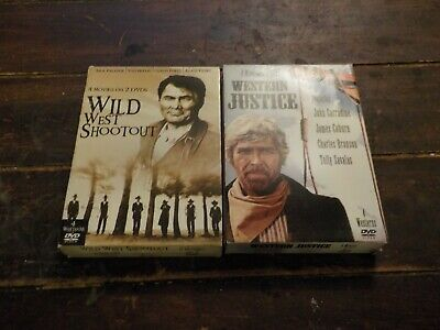 Western Collections 8 Movies On 4 Dvds Glenn Ford, Charles Bronson