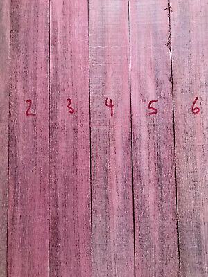 Purpleheart / amaranth / violetwood turning blank / carving wood quartersawn