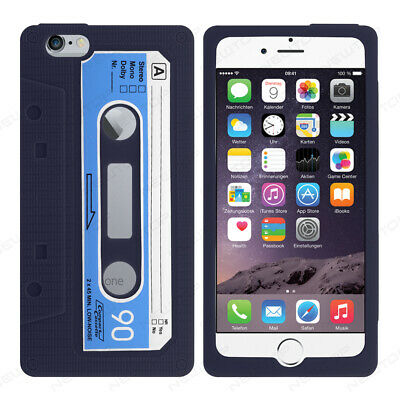 COVER CASSETTA PER APPLE IPHONE 7 / 8 4.7 CUSTODIA SILICONE TPU