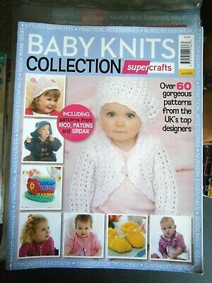 Supercrafts Baby Knit Collection Bookazine (new)