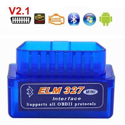 Mini Bluetooth OBD2 II Car Auto Diagnostic Interface Scanner Adapter Tool OK 01