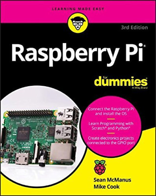 Raspberry Pi for Dummies (UK IMPORT) BOOK NEW