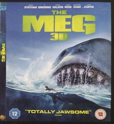 The Meg 3D Blu-ray Region Free