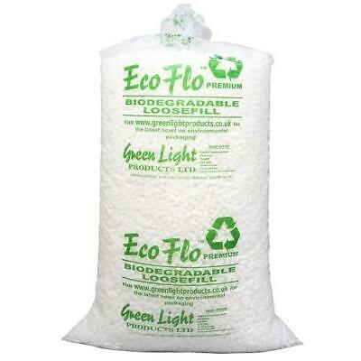 ECO-FLO Quality Biodegradable Loose Void Fill Packing Peanuts *ALL QUANTITIES*
