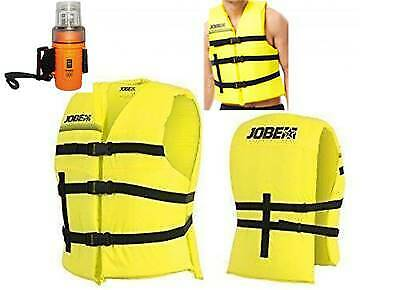 Pack paddle Gilet 50N + lampe flash 4-LED - Jobe Universal Vert