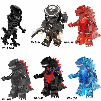 Lego Super Hero Movie Series Alien vs. Predator Minifigure Giant Monster figure