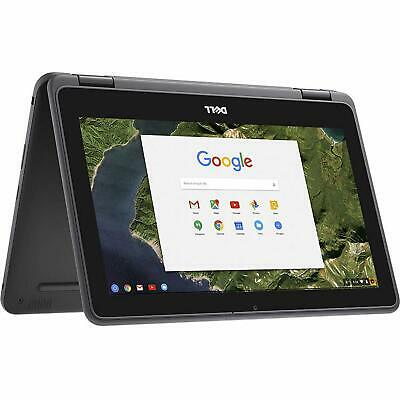 "Dell 3189 Convertible Chromebook 11.6"" HD Touchscreen Intel N3060 4GB 32GB SSD"