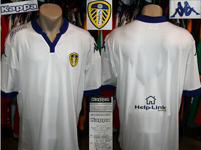 LEEDS UNITED (The Peacocks) Kappa Kombat 2015/2016 Home Jersey Shirt