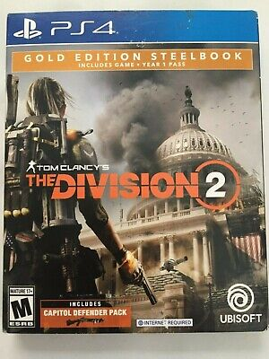 TOM CLANCYS THE Division 2 - Gold Steelbook Edition PS4