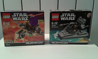 7503375129 En Star Boîte Lego Wars Neufs Lot Microfighters nO80XPwk