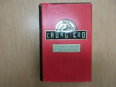 Chung Kuo: The Middle Kingdom by David Wingrove (1990, Hardcover) Book 1