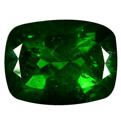 1.59 CT Incroyable Coupe Coussin (8 X 6 mm) Russe Chromé Diopside