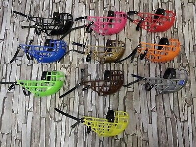 Greyhound  Box Muzzle , Don Pare 101, Various Colours