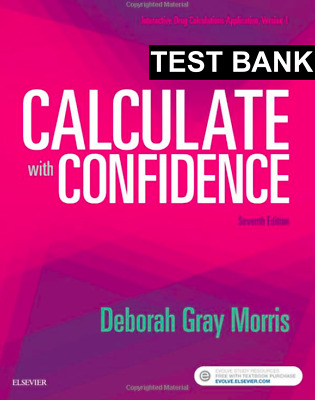 Calculate with Confidence 7th Edition