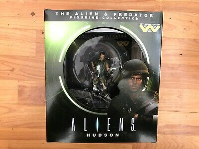 The Alien And Predator Figurine Eaglemoss Collection Issue 8 Hudson Figure