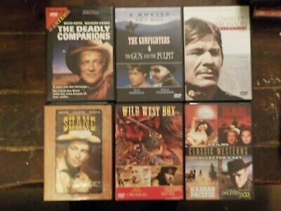 Huge Lot Of Western Movies Charles Bronson Marlon Brando Martin Sheen