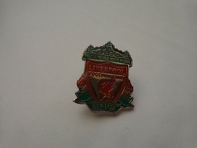Classic 90'S Liverpool Fc Emblem Crest Football Enamel Pin Badge