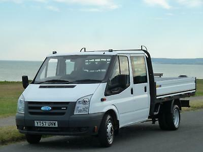 FORD TRANSIT 2.4TDCi 100PS 350L EF 350 LONG WHEEL BASE EXTENDED FRAME CREW CAB