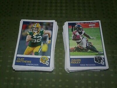 2019 Score Football Base Singles - Create Own Lot #243 to #440
