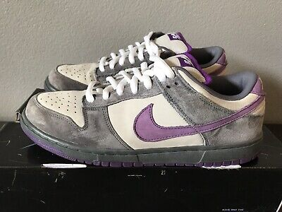 san francisco 2b8c6 f8e30 2006 Nike Dunk Low Pro SB Purple Pigeon Prism Violet Sz 11 Nds Great  Condition
