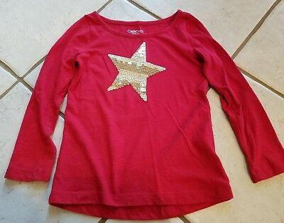 Girls xs red top with gold star! Super cute!