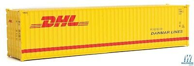 HO DHL 40' HC Corrugated Side Container - Walthers SceneMaster #949-8267 vmf121