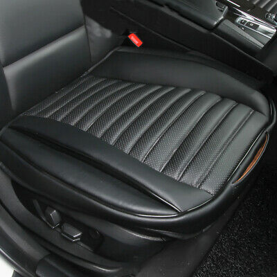 Black Leather Universal Car Seat Cover Seat Protector Auto Accessories Interior