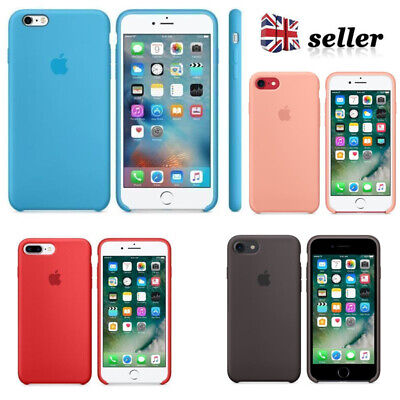 Slim Silicone Phone Case Cover Shockproof Protective For i Phone 7/8  7/8 Plus