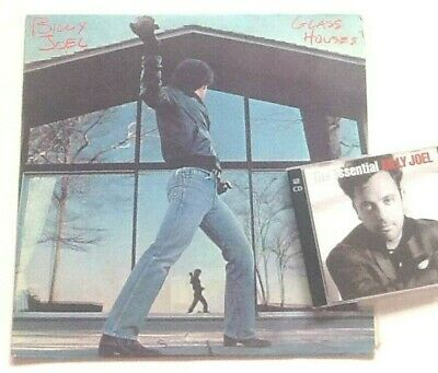 Billy Joel Glass Houses LP with FREE The Essential Best Of 2CD!
