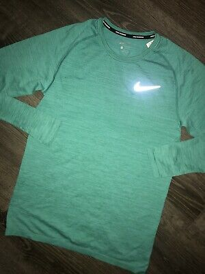 d5c582ff2 Nike Dri-FIT Running Shirt - Men's Small - $90.00 833565 483 Green Tennis