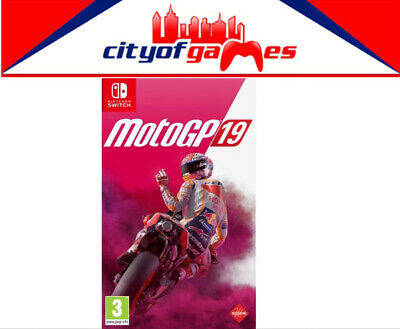 MotoGP 19 Nintendo Switch Game Brand New & Sealed In Stock