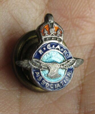 7a620130ecfee RCAF Royal Canadian Air Force Sterling Silver Sweetheart Wing Pin KC WWII  WW2