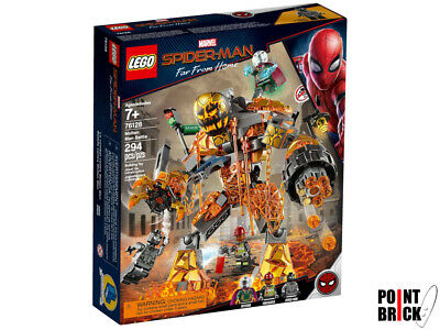LEGO 76128 MARVEL Spider-Man: Far From Home - La battaglia di Molten