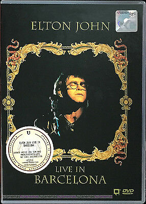 ELTON JOHN Live In Barcelona 1992 MALAYSIA DVD-9 RARE NEW SEALED FREE SHIPMENT
