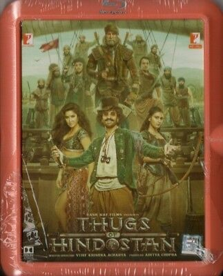 THUGS OF HINDOSTAN - YRF BOLLYWOOD BLU-RAY / DVD - Amithabh Bachchan, Aamir Khan