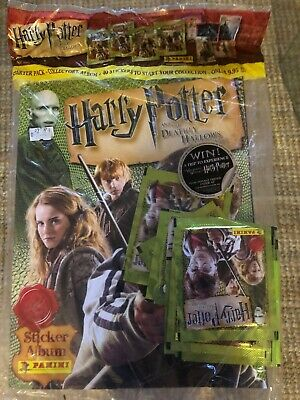 PANINI Harry Potter and the Deathly Hallows Part 1 sticker album unopened