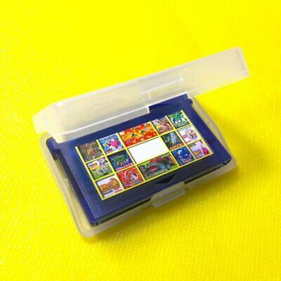 Good Quality For GBA Game Cards Cartridge Cases Plastic Material Transparent DK