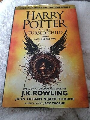 Harry Potter and the Cursed Child 1st Edition Hardback Misprint print Number 10