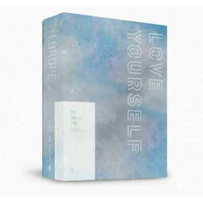 BTS-[World Tour Love Yourself In Europe] DVD+PhotoBook+Post+Card+Gift+Tracking