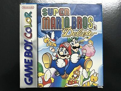 Super Mario Bros Deluxe Nintendo Game Boy Gameboy Complet