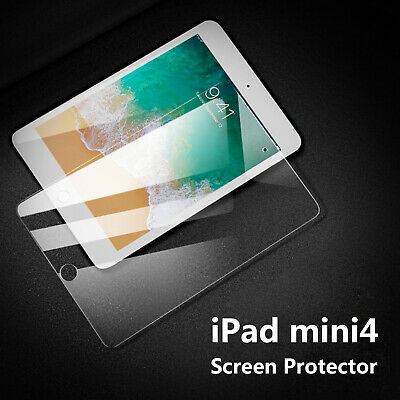 Premium Genuine Tempered Glass Screen Film Cover Protector For iPad Mini4