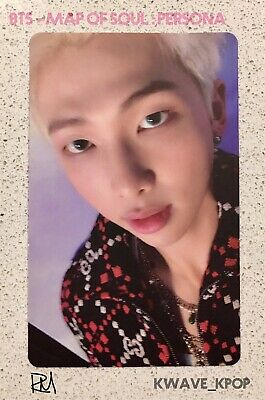 Bts 방탄소년단 Map Of Soul : Persona -Official Authentic Photo Card Only -Member Rm