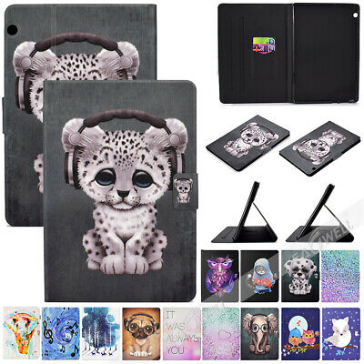 For Huawei Mediapad T5 10 AGS2-W09/AGS2-L09 10.1 Tablet Smart Leather Cover Case