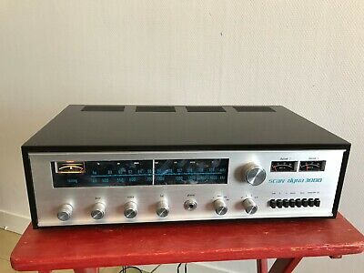 SCAN-DYNA 3000 AM/FM Stereo Receiver. En bois. Très rare!!! MADE IN DENMARK.